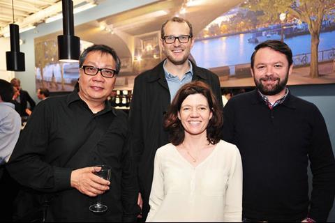 Jeffrey Chan, Andrew Orr, Isabel Davis, Stephen Kelliher